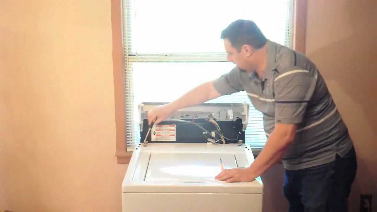 Washer Not Draining Or Spinning Whirlpool Kenmore Washer Repair Wont Spin Or Drain Lid Switch
