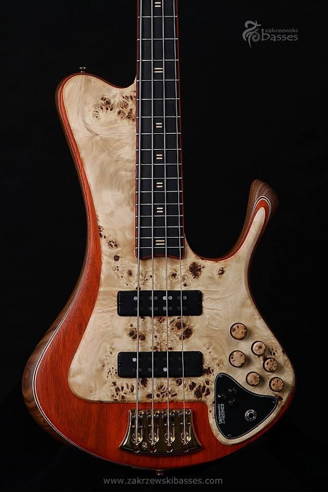 Im Speechless Awesome Work By Zakrzewski Basses Guitarbass