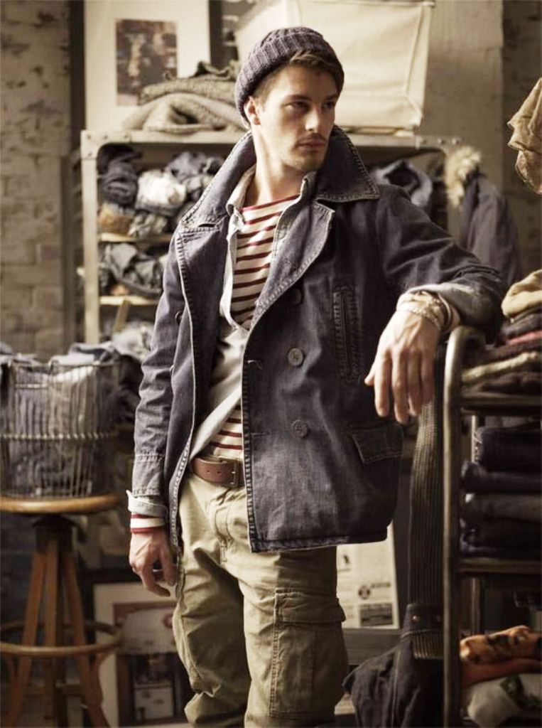 rustic-mens-fashion. Not sure about the cargos though.  67e017286e31