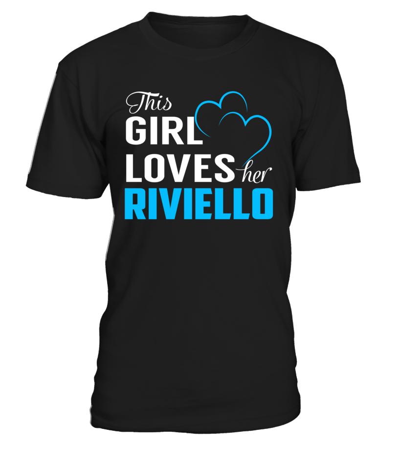 This Girl Love Her RIVIELLO Last Name T-Shirt #Riviello