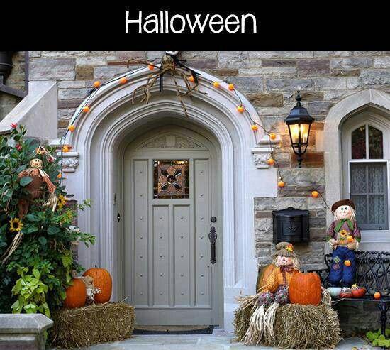 Pin by Ashley on Halloween Pinterest - halloween house decorating ideas