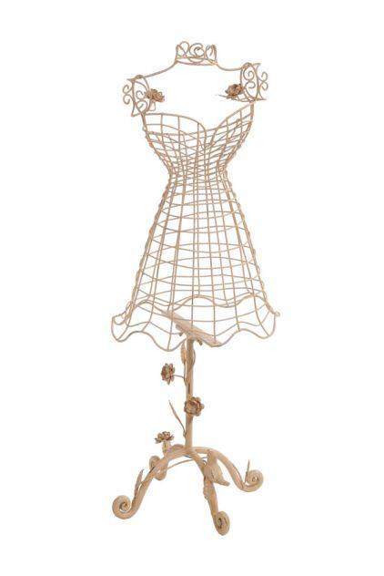 Dress Form - Metal Pink - $52.00 : Enchanted Cottage Shop, For ...