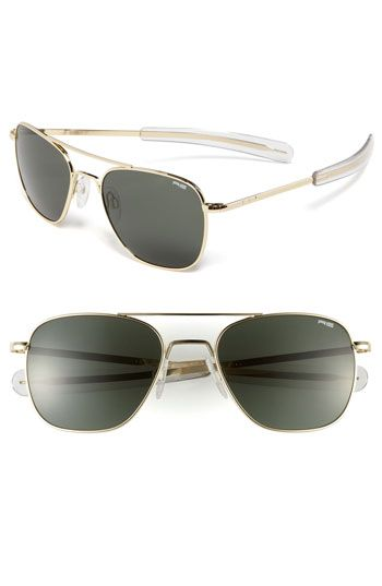 fff79f14fb6 Randolph Engineering 55mm Aviator Sunglasses