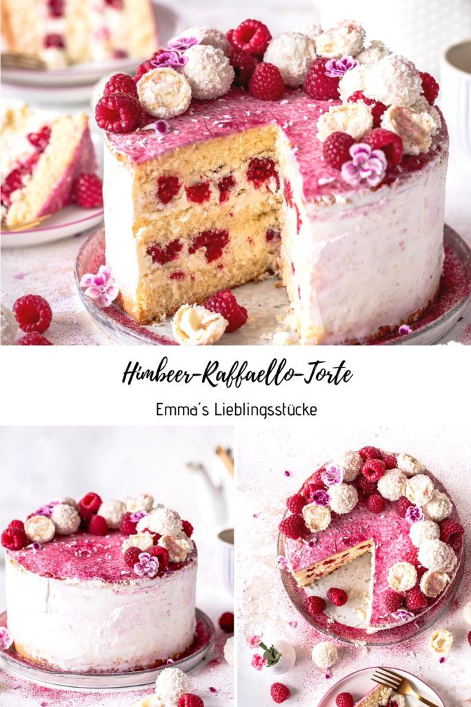 Photo of Himbeer-Raffaello-Torte