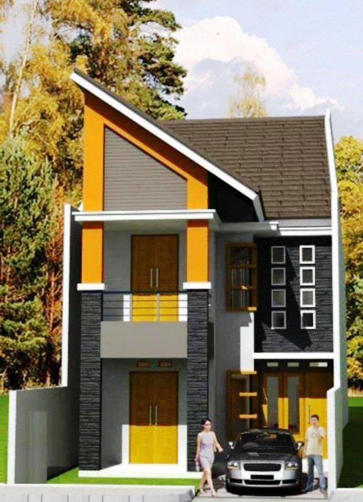 Desain Rumah Type 36 2 Lantai Modern Elegan | Desain rumah ...