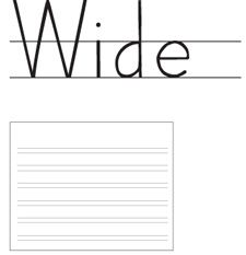 This Paper Is Great For Kids Who Are Learning To Write  Fine