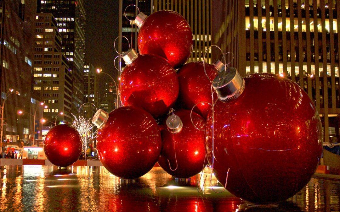 New York City Christmas Lights In Part 2 Travel Around The World