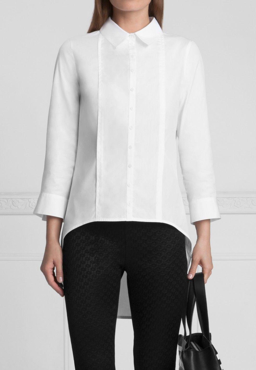 cc4b1184eedcc7 Polly Shirt - Women's White Shirt | Anne Fontaine | shirts white ...