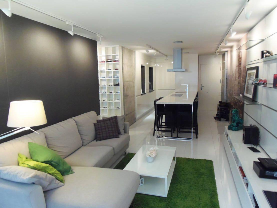 Un luminoso appartamento alle Canarie | Soggiorno minimalista ...