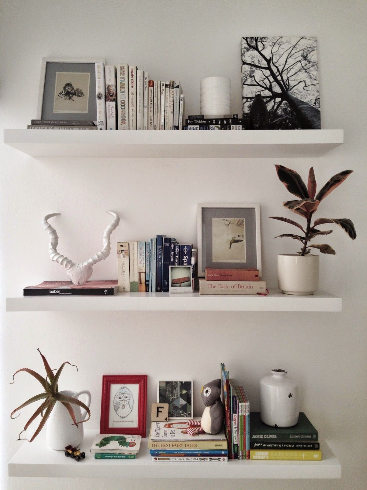 Hanging Wall Shelves Bedroom