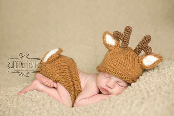 Hey i found this really awesome etsy listing at http www etsy com listing 150477508 baby white tail deer hat and matching