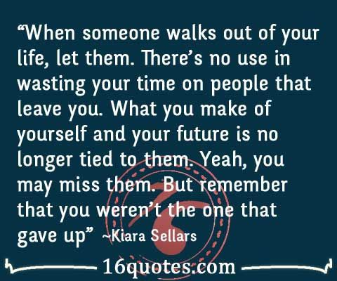 quotes about people leaving your life