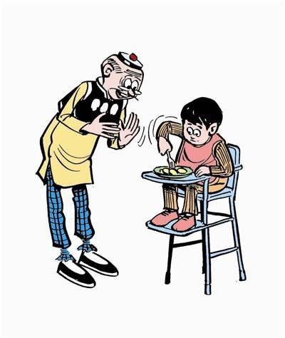 妈宝 Mum-treasure means a kid is always under the protection of mum, sometimes it's just too eager or overreacting.