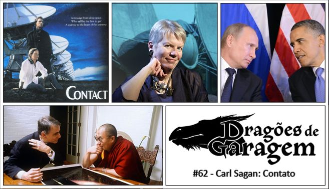 @dragoesgaragem 62 Carl Sagan: Contato | #CarlSagan