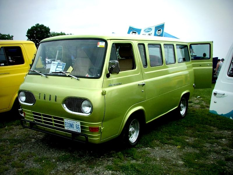1966 Ford Falcon Van Econoline I Have A Soft Spot Fir The Old