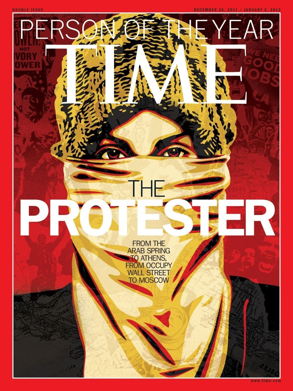 Time Person Of The Year - The Protester