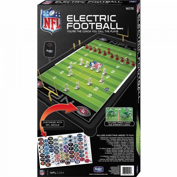 Indoor Board Games Hobbies Nfl Electric Football Play Sets Defense