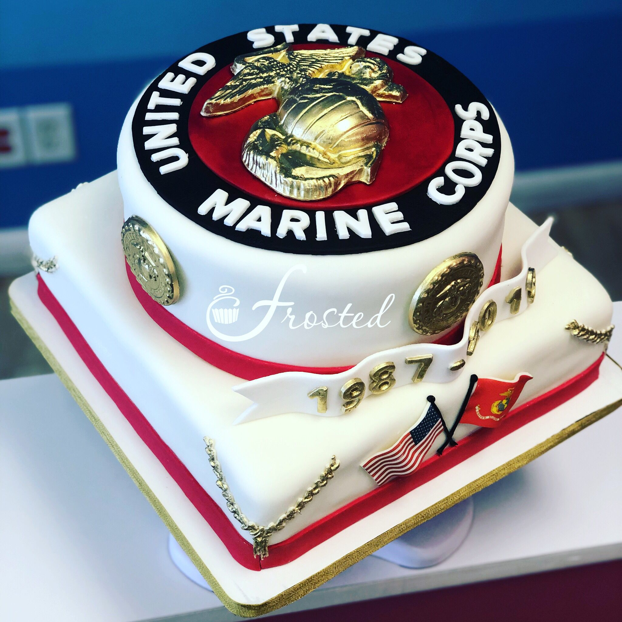 Marine Corps Retirement Cake Ega Chocolate Mold Marinecorps