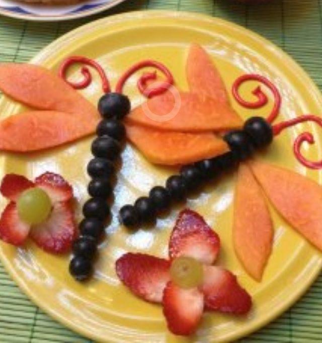 Figuras con frutas on pinterest food art food and fiestas - Decoracion de frutas ...