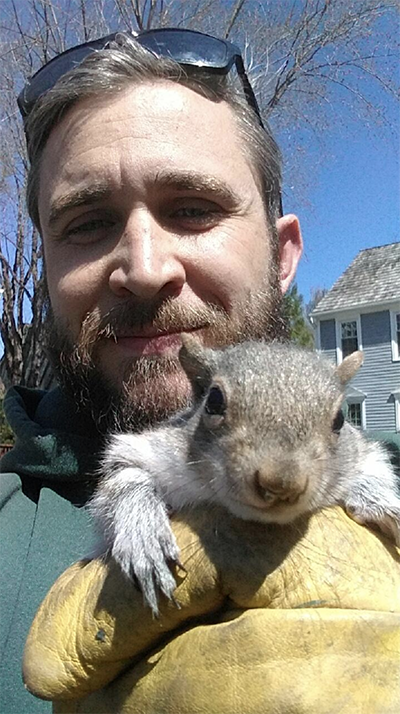 One Of Our Wildlife Experts On A Squirrel Removal Mission Do You Have Squirrels In Your Attic Call Us Now And We Will Send Koala Bear Animal Control Animals