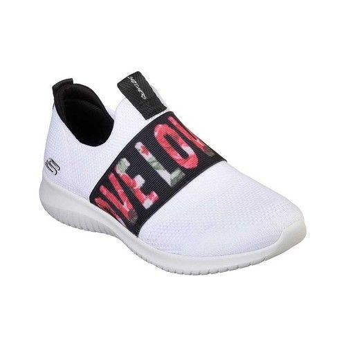 Skechers Ultra Flex Love First Slip On Sneaker Skechers Fabric