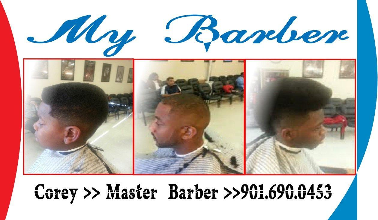 My business card my barber ueue corey pinterest business cards