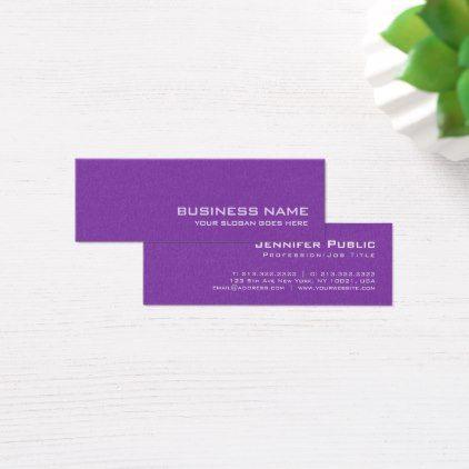 Makeupartist businesscards elite purple plain modern pearl makeupartist businesscards elite purple plain modern pearl finish salon luxe mini business colourmoves