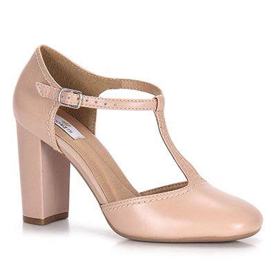 Sapato Salto Feminino Cesaretti - Nude - Escolha seu tamanho | Passarela