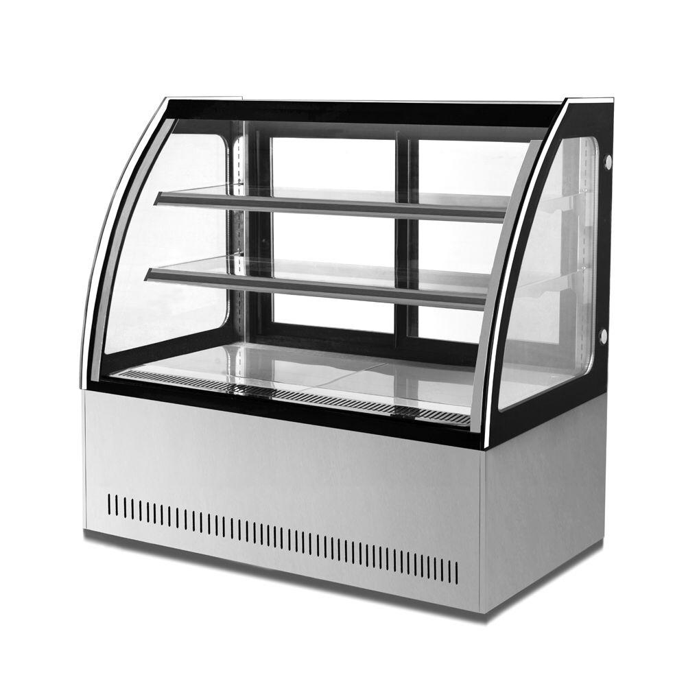 Pezo 1 8meter Air Cooling System Cake Display Freezer Counter