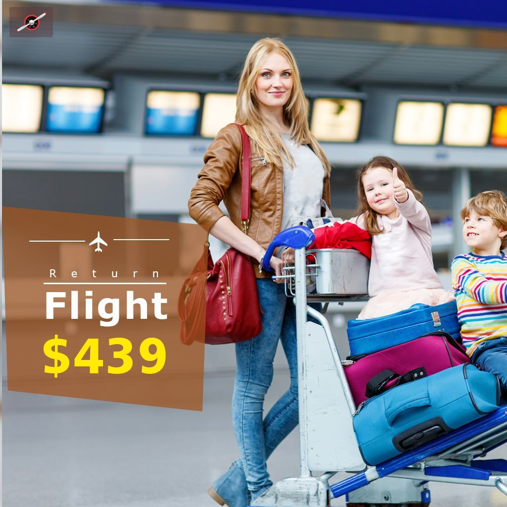 Book Return Cheap Flight Ticket Limited offer to Hurry Up