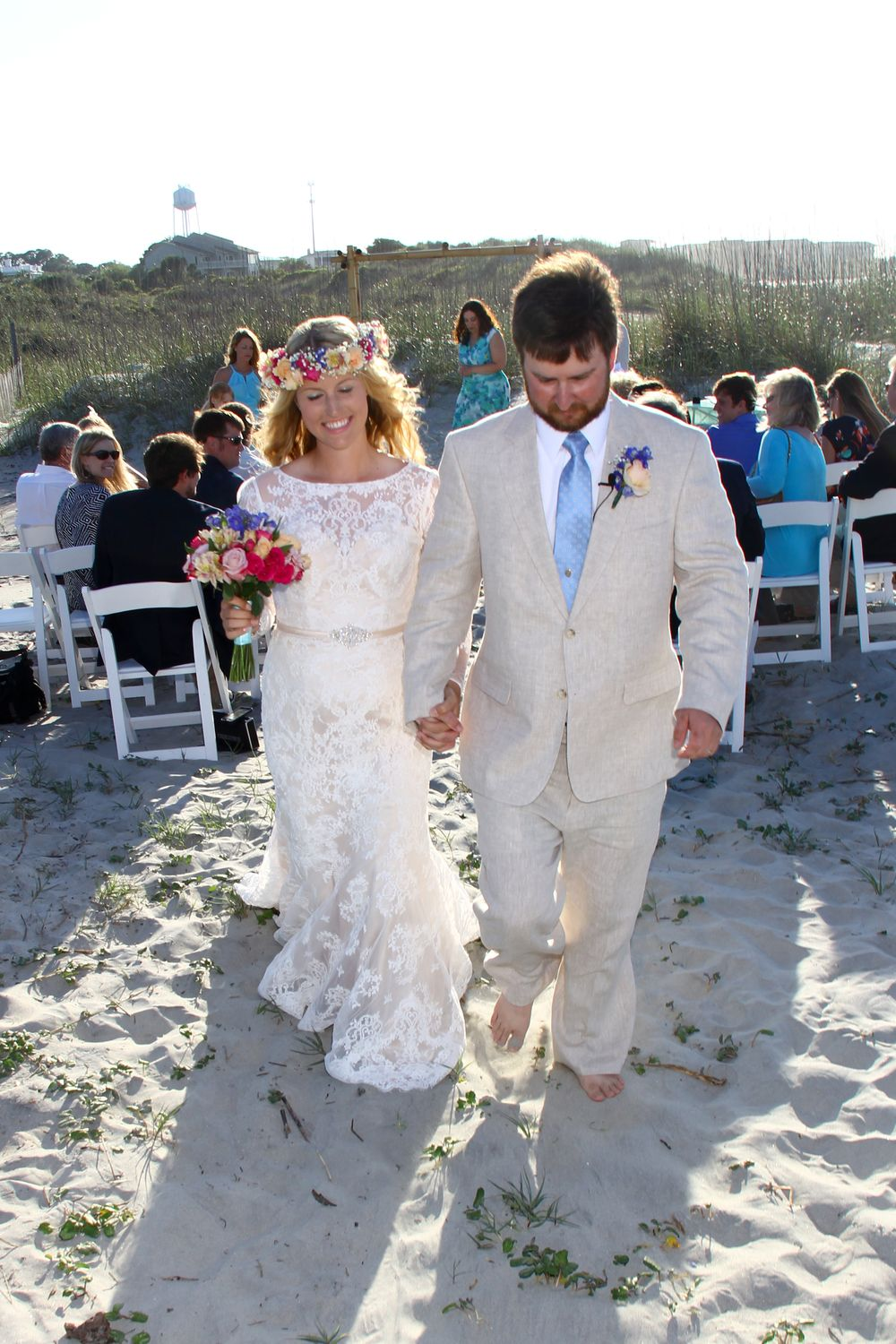 Tybee Island Georgia Beach Wedding Beachwedding Tybeewedding Destinationwedding