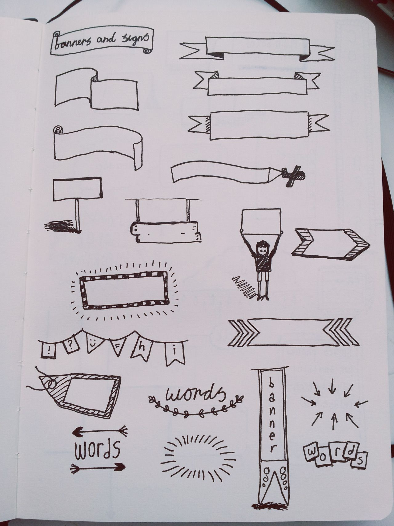 Idées de bannières.