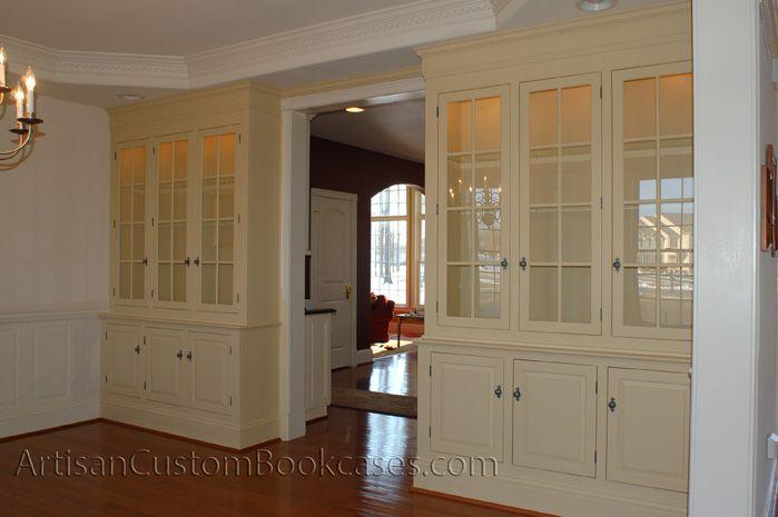 Custom Wall Unit Bookcases | Walnut Hill Good General Ideas ...