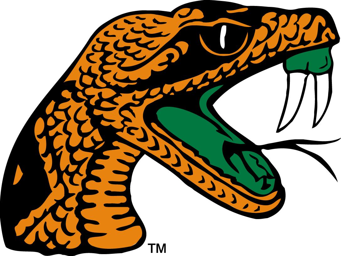Florida A M Rattlers Primary Logo 2013 Sports Logo Famu College Sports