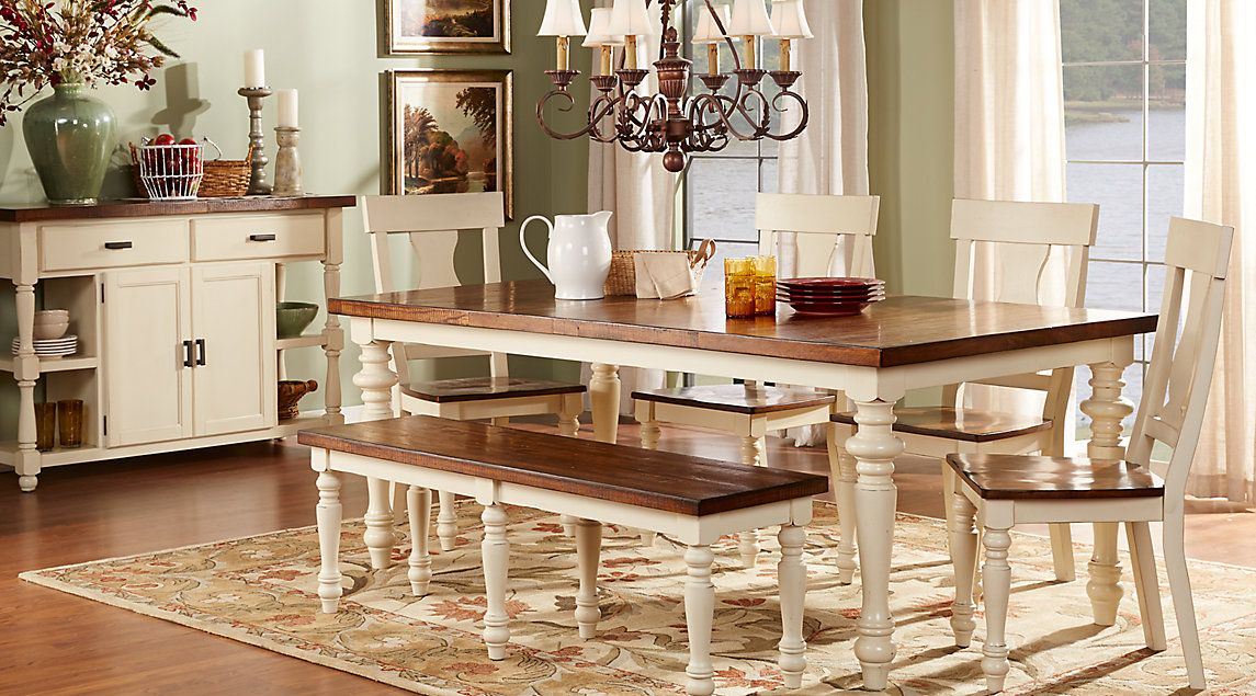 Dining Room Sets Furniture Rooms To Go Furniture Dining Room Remodel Farmhouse Dining Room Table