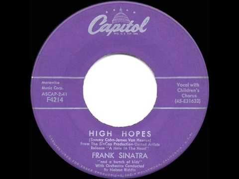 1959 HITS ARCHIVE: *High Hopes* - Frank Sinatra - YouTube