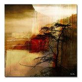 Found it at Wayfair - 'Abstract Landscape II' by Art Alexis Bueno Wrapped Canvas Wall Art