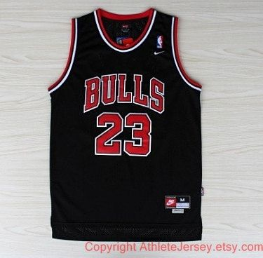 90e5fb1ccc3 Michael Jordan Chicago Bulls Rare NBA 23 Jersey Michael Jordan Jersey Black  Basketball Jersey All Stitched and Sewn Jersey Any Size S - XXL on Etsy,  $35.97
