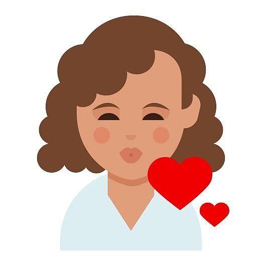 Dove Creates Curly Hair Emoji For Every Skin Tone Curly Hair Styles Dark Skin Skin Tones