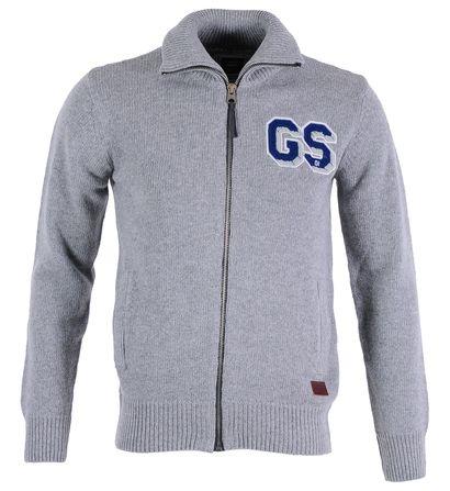 Gilet zippé en laine G-Star Gris pour Homme prix promo Galeries Lafayette 100.00 € TTC