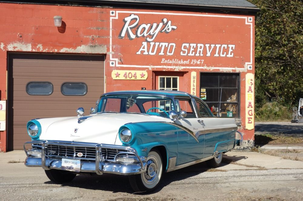 NEW ARRIVAL 1956 Ford Crown VicRESTORED GROUND UP Believed