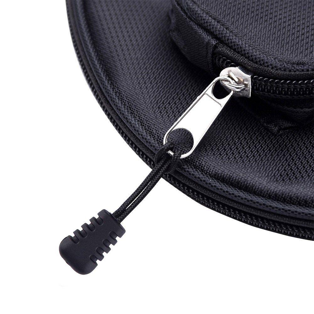 eBoot 10 Pieces Zipper Pull Zipper Tags Cord Pulls Zipper Extension Zip Fixer Black