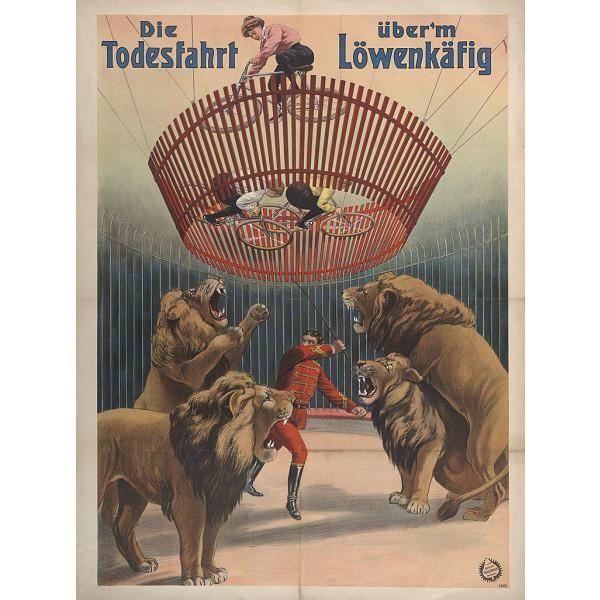 Die Todesfahrt über'm Löwenkäfig