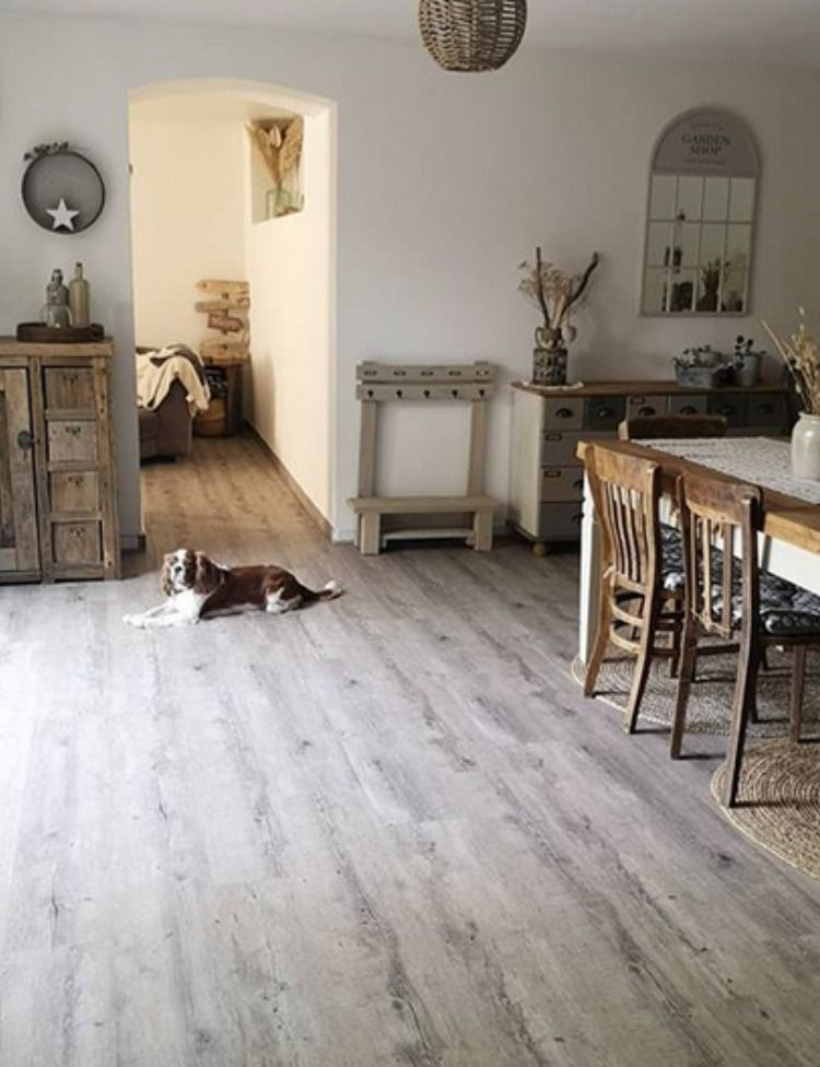 @mlle.piou has adopted our #SensoPremiumClic, for its interior design, creating a warm and picturesque atmosphere enriched by the wood furniture and the cane carpet. Even the dog seems to feel the cosyness of this place. Do you feel it too? 😍 Post your photos with @gerflorgroup and #gerflor and we'll publish our favorites every month! 💞 🎨 product reference: Senso Collection, Pecan design