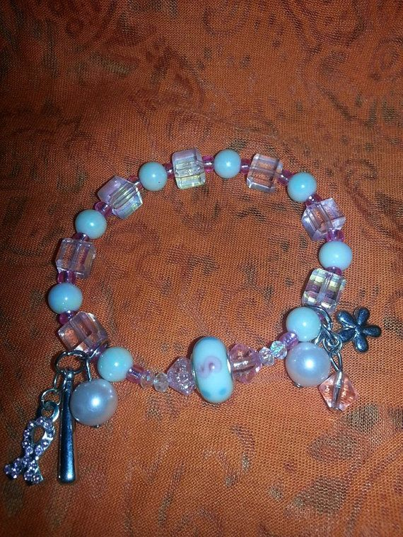 Hey, I found this really awesome Etsy listing at https://www.etsy.com/listing/167923515/breast-cancer-charm-bracelet