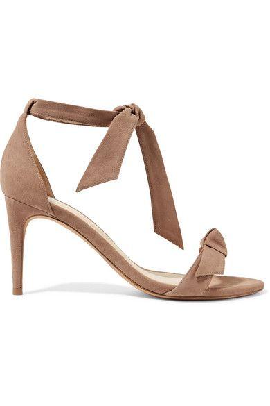 ALEXANDRE BIRMAN Woman Suede Slippers Taupe Size 38 5Z8eVmuoq9