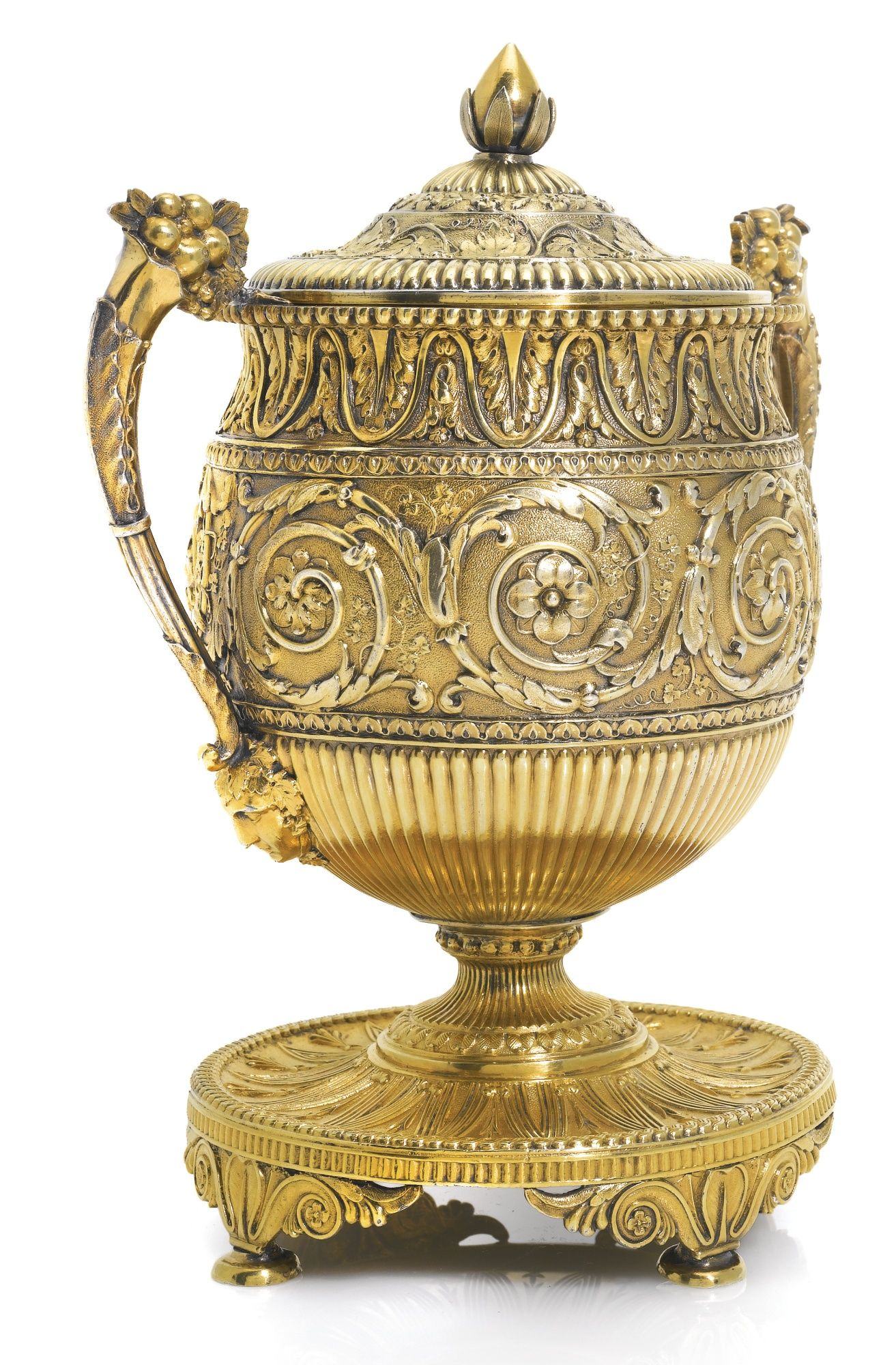 A George Iii Silver Gilt Sugar Vase And Cover Digby Scott Benjamin Smith London Circa 1805 Lot Sotheby S Digby Luxury Art Silver