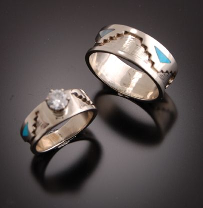 40+ Native american jewelry wedding rings ideas