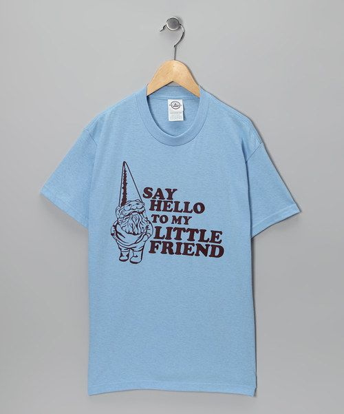 When it's time to assemble a casually cool outfit for school or playground wear, there's nothing more treasured in a kid's closet than a comfy all-cotton tee. This one's hilarious slogan makes it more than just a shirt—it's a clever conversation piece! 100% cottonMachine wash; hang dryImported