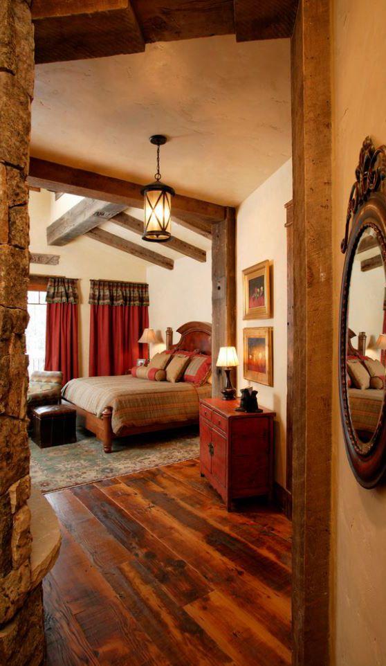Rustic Bedroom Design by Lynne Barton Bier | Bedrooms | Pinterest ...